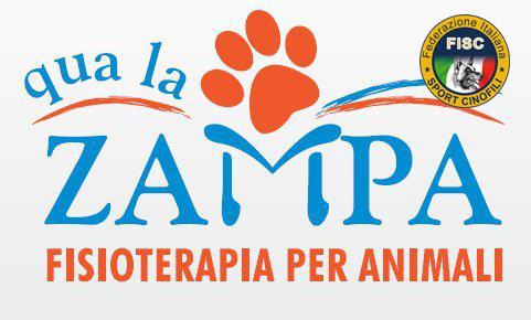 Logo Qua la zampa + FISC